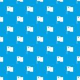 Azul inconsútil del vector del modelo de la bandera de Chile libre illustration