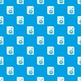 Azul inconsútil del vector del modelo de los altavoces del estudio Fotos de archivo libres de regalías