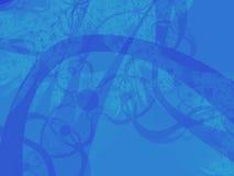 Azul intrincado Fotos de archivo libres de regalías