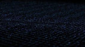 Azul isométrico dinâmico da grade do relâmpago ilustração stock