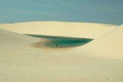 Azul Lagoa Стоковые Изображения RF