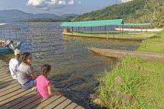 Azul Laguna, tarapoto, Перу Стоковое Изображение