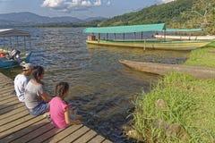 Azul Laguna, tarapoto, Перу Стоковое Фото