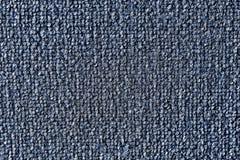 Azul lanudo del color de la alfombra Foto de archivo libre de regalías