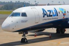 Azul linia lotnicza Zdjęcie Stock