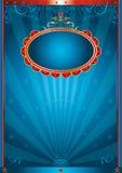 Azul mágico Foto de archivo libre de regalías