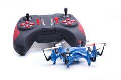 Azul nano del hexacopter Fotos de archivo libres de regalías