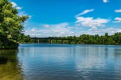 Azul nebuloso Foto de Stock Royalty Free