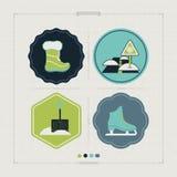 Azul, placa, pensionista, embarque, exercício, extremo, divertimento, papagaio, kiteboard, kiteboarding, kitesail, kitesurf, kiti Foto de Stock Royalty Free