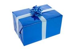 Azul presente Imagen de archivo libre de regalías