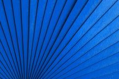 Azul radial imagem de stock