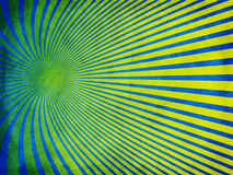 Azul retro da textura do grunge com amarelo imagens de stock royalty free
