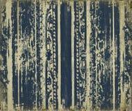 Azul rolo-trabalhe listras da madeira do grunge Imagem de Stock Royalty Free