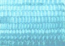 Azul saturado, fondo de la aguamarina Superficie y textura desiguales fotografía de archivo