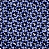 Azul sem emenda do teste padrão Imagens de Stock