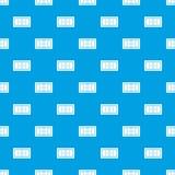 Azul sem emenda do teste padrão do campo de tênis Imagens de Stock Royalty Free