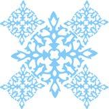 Azul sem emenda do teste padrão do ornamento do vetor Fotografia de Stock Royalty Free