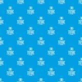 Azul sem emenda do vetor futuro do teste padrão dos vidros ilustração do vetor