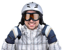Azul, tarjeta, huésped, embarque, ejercicio, extremo, diversión, cometa, kiteboard, kiteboarding, kitesail, kitesurf, kiting, lag Fotos de archivo libres de regalías
