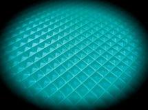 azul textured círculo Fotografia de Stock Royalty Free