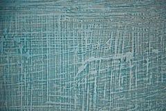 Azul Textured - parede cinzenta sob a forma das calças de brim Foto de Stock
