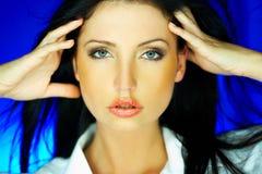 Azul um Fotos de Stock Royalty Free