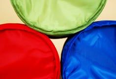 Azul verde vermelho Imagens de Stock