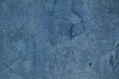 Azul viejo de la pared de la pintura del fondo Imagen de archivo