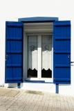 Azul y blanco foto de archivo libre de regalías
