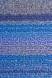 Azul y cielo y textura gris del fondo de la alfombra Fotografía de archivo libre de regalías