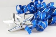 Azul y plata Fotos de archivo