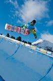 azulaen spelar den olympic ungdommen för manex Royaltyfri Foto