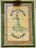 azulejo Σεβίλη Στοκ φωτογραφίες με δικαίωμα ελεύθερης χρήσης