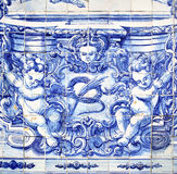 Azulejo στο Πόρτο Στοκ Εικόνες
