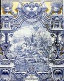 Azulejo antigo em Lisboa Fotos de Stock