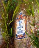 Azulejo au Portugal images stock