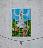 Azulejo auf einem christlichen Thema Lizenzfreies Stockbild