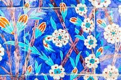 Azulejo azul Imágenes de archivo libres de regalías