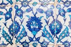 Azulejo azul Fotos de archivo libres de regalías