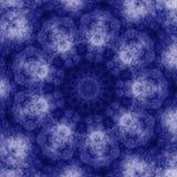Azulejo azul del caleidoscopio del grunge Foto de archivo libre de regalías