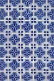 Azulejo bakgrund, portugis eller moroccan, tegelplattor, arabisk vägg D Arkivbild