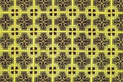 Azulejo bakgrund, portugis eller moroccan, tegelplattor, arabisk vägg D Arkivfoton