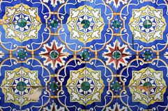 Azulejo in Braga Stock Photography