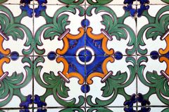Azulejo in Braga Royalty Free Stock Photo