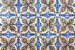 Azulejo in Braga. Azulejo (wall tile) in the city of Braga, Portugal Stock Photo
