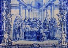 Azulejo (ceramic tile) Stock Image
