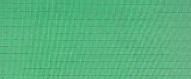 Azulejo de azotea verde Foto de archivo