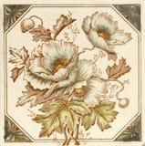 Azulejo de la amapola fotos de archivo libres de regalías