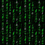 Azulejo de la nota de la matriz Imágenes de archivo libres de regalías