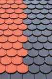 Azulejo de material para techos Fotos de archivo libres de regalías